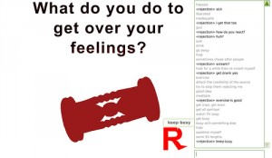 Freeze, Flight or Fight, or main reactions to rejection