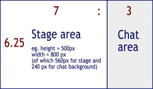 UpStage aspect ration