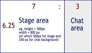 UpStage aspect ration