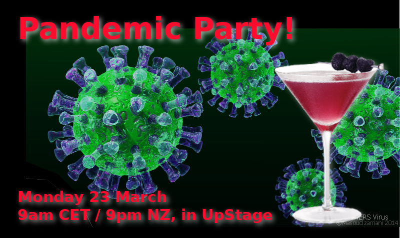 Pandemic Party Poster
