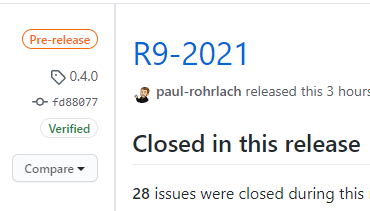 release R9-2021